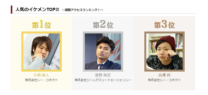 小林さん1位谷澤くん3位